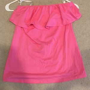 Lily Pulitzer Wiley pink top
